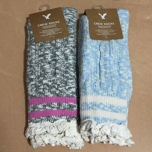 American Eagle crew socks bundle